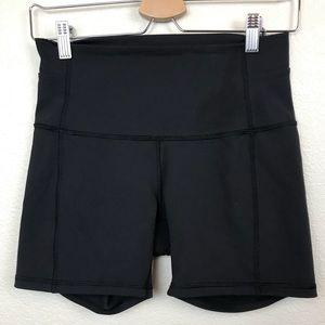 "Lululemon Black Align Shorts 4"""